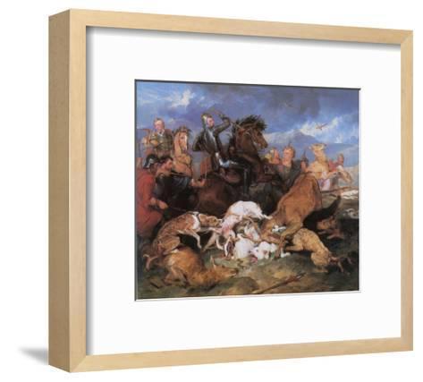 The Hunting of Chevy Chase-Edwin Henry Landseer-Framed Art Print