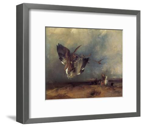 Hawking-Edwin Henry Landseer-Framed Art Print