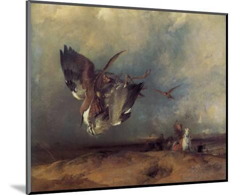 Hawking-Edwin Henry Landseer-Mounted Giclee Print
