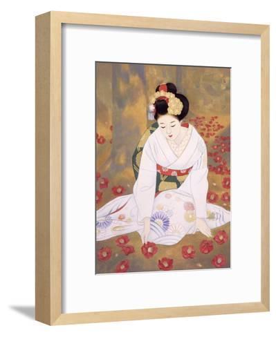 Lament at End of Spring-Goyo Otake-Framed Art Print