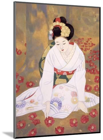 Lament at End of Spring-Goyo Otake-Mounted Giclee Print