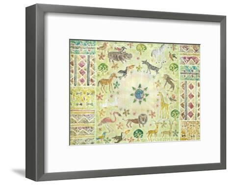All Are One, Mother Earth-Miyuki Hasekura-Framed Art Print
