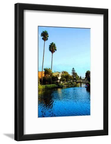 Two Palm Trees in the Sky-Jack Heinz-Framed Art Print