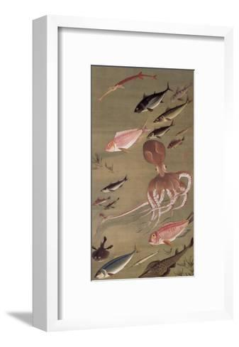 Fish Athletic Meeting-Jyakuchu Ito-Framed Art Print