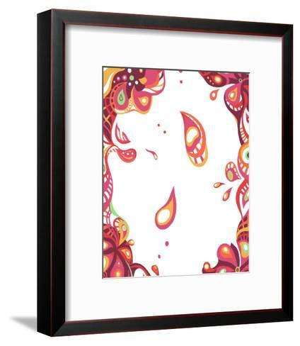 Color Melody: All Love Imagined by Spring Flower and Pink Warm Color-Kyo Nakayama-Framed Art Print