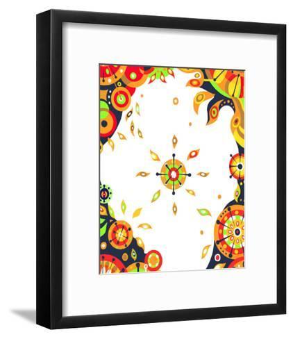 Color Melody: Strong Sunshine of Summer Vitality and Power of Life-Kyo Nakayama-Framed Art Print