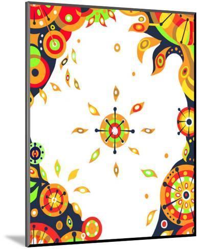 Color Melody: Strong Sunshine of Summer Vitality and Power of Life-Kyo Nakayama-Mounted Giclee Print