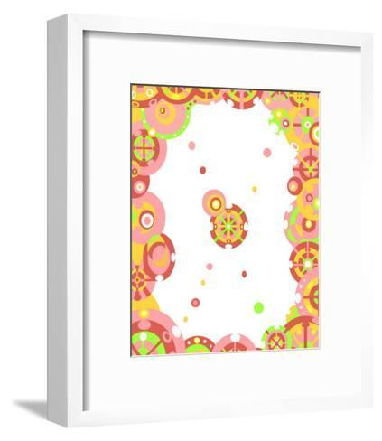 Color Melody: Lovely Toy, Pretty Girl and a Lot of Dreams-Kyo Nakayama-Framed Art Print