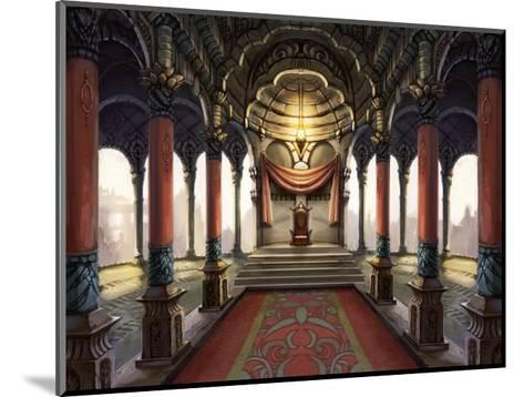 Inside the Castle of the Orient: The King Who Sits on the Throne-Kyo Nakayama-Mounted Giclee Print