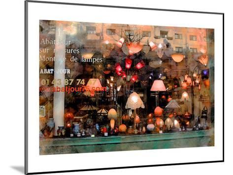 Lamp Store, Paris, France-Nicolas Hugo-Mounted Giclee Print