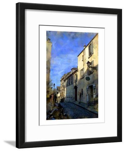 Musee on the Hill, Paris, France-Nicolas Hugo-Framed Art Print