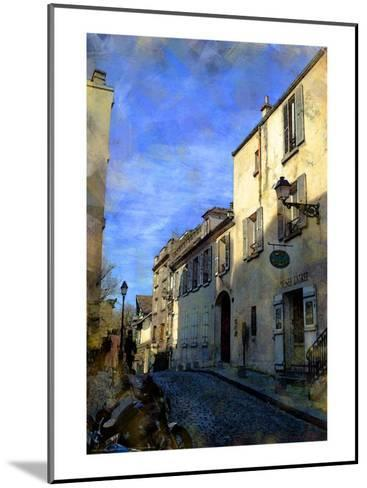Musee on the Hill, Paris, France-Nicolas Hugo-Mounted Giclee Print
