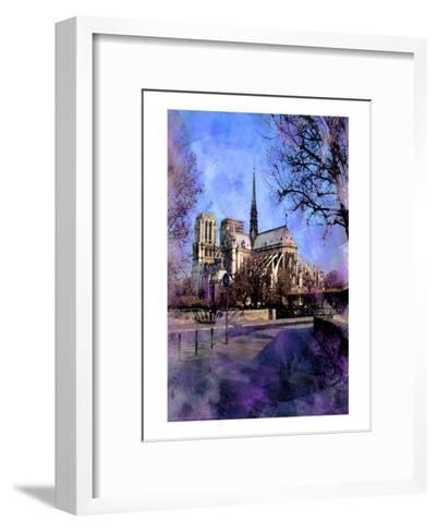 Notre-Dame, Paris, France-Nicolas Hugo-Framed Art Print