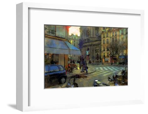 Paris at Dusk, France-Nicolas Hugo-Framed Art Print