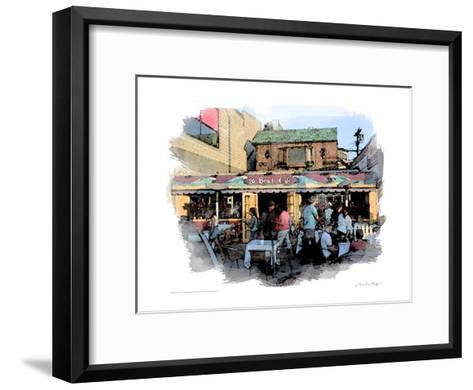 26 Beach Cafe, Venice Beach, California-Nicolas Hugo-Framed Art Print