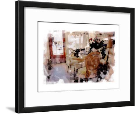 Branch Table, Santa Monica, California-Nicolas Hugo-Framed Art Print