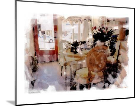 Branch Table, Santa Monica, California-Nicolas Hugo-Mounted Giclee Print