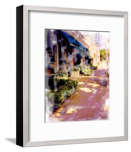 Pavement on Sunday-Nicolas Hugo-Framed Art Print