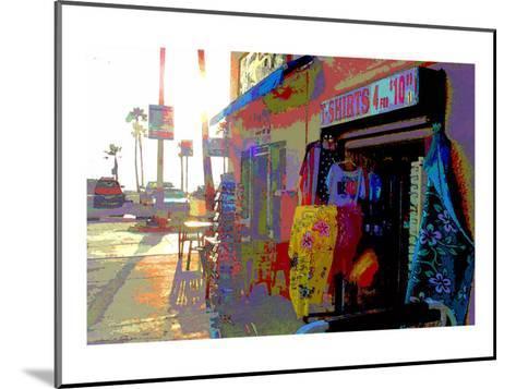 T-Shirts, Venice Beach, California-Steve Ash-Mounted Giclee Print