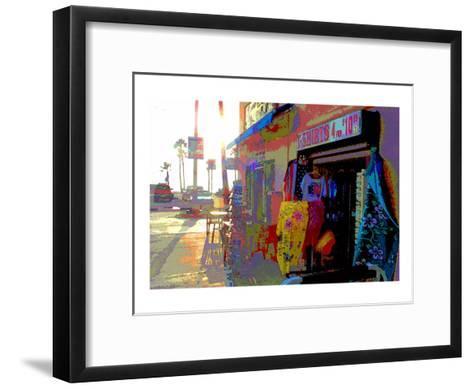 T-Shirts, Venice Beach, California-Steve Ash-Framed Art Print