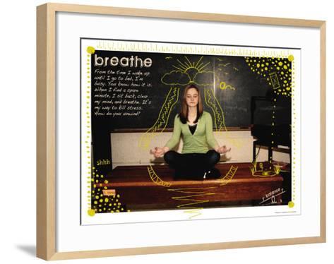 Breathe-Jeanne Stevenson-Framed Art Print