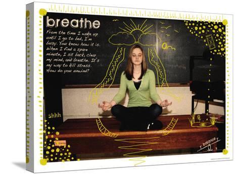 Breathe-Jeanne Stevenson-Stretched Canvas Print