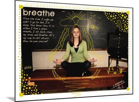 Breathe-Jeanne Stevenson-Mounted Art Print