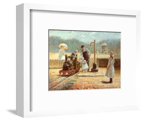 The Model Railway-Rene Legrand-Framed Art Print