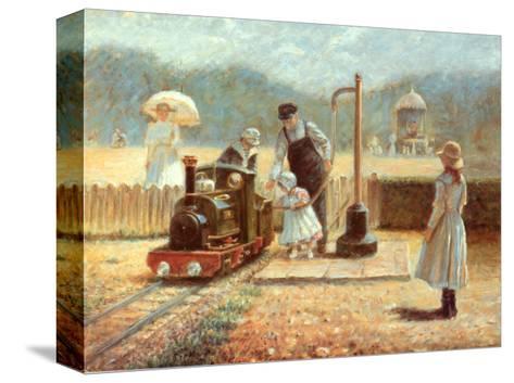 The Model Railway-Rene Legrand-Stretched Canvas Print