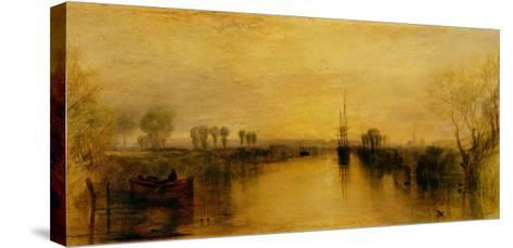 Chichester Canal-J^ M^ W^ Turner-Stretched Canvas Print