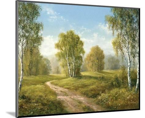 Sunny Afternoon-H^ Buchner-Mounted Art Print
