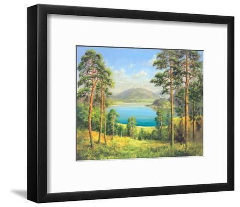 Otmuchow Lake-H^ Buchner-Framed Art Print