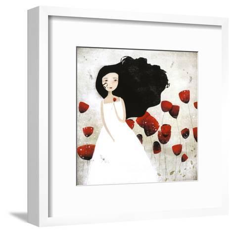 Les Coquelicots-Anne-julie Aubry-Framed Art Print