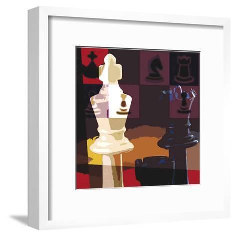 Check Mate-Jack Jones-Framed Art Print