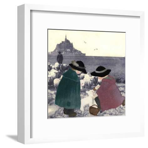 Bergers Secours-Diane Ethier-Framed Art Print