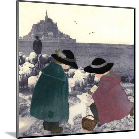 Bergers Secours-Diane Ethier-Mounted Art Print