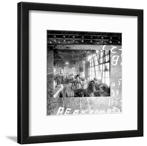 At the Factory II--Framed Art Print