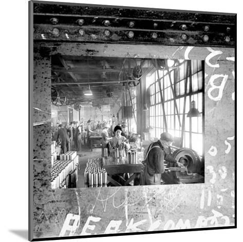 At the Factory II--Mounted Art Print