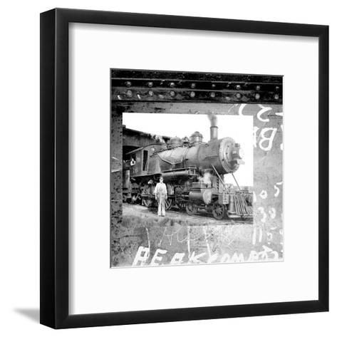 Old Train I--Framed Art Print