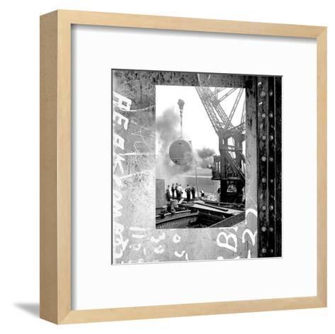 At the Port I--Framed Art Print