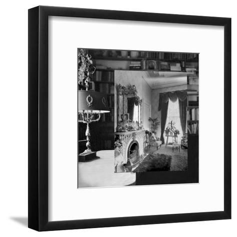 Interior 1920, III--Framed Art Print