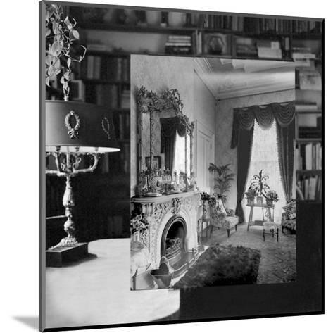 Interior 1920, III--Mounted Art Print