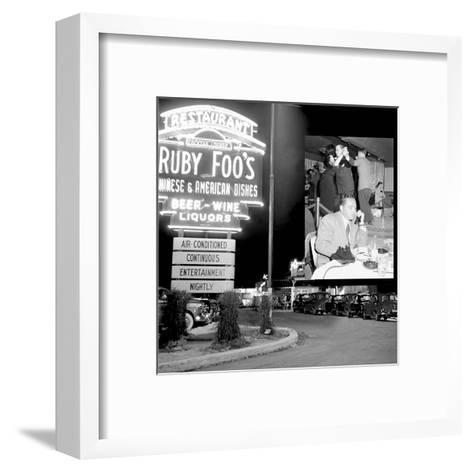 Night Club II--Framed Art Print