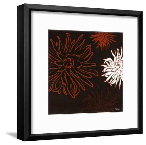 Dalhias I-Olivia-Framed Art Print