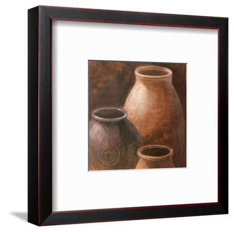 Pottery I--Framed Art Print