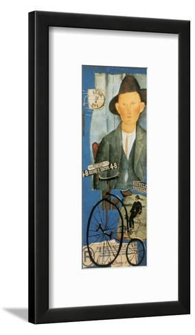 Tricycle-Claudette Castonguay-Framed Art Print