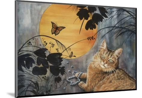 Madame Butterfly-Jeanette Tr?panier-Mounted Art Print