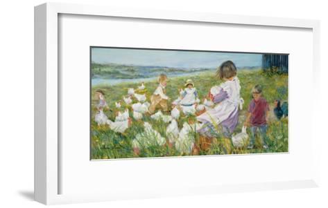Little Fresh Air-H?l?ne L?veill?e-Framed Art Print