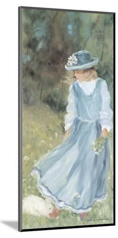 With My Rabbit-H?l?ne L?veill?e-Mounted Art Print
