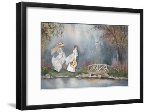 These Ladies with Hats-Armande Langelier-Framed Art Print